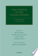 """The Charter of the United Nations: A Commentary"" by Bruno Simma, Daniel-Erasmus Khan, Georg Nolte, Andreas Paulus, Nikolai Wessendorf"