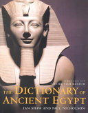 The Dictionary of Ancient Egypt