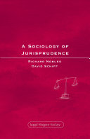 A Sociology of Jurisprudence