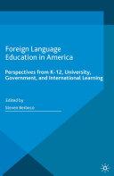 Foreign Language Education in America Pdf/ePub eBook