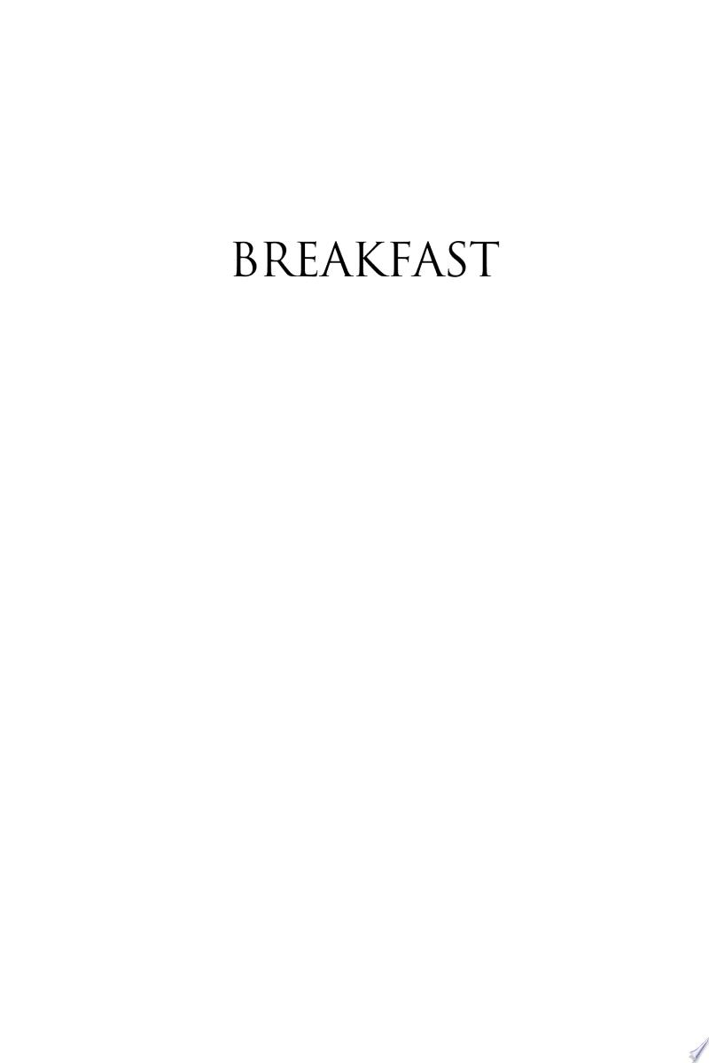 Breakfast banner backdrop