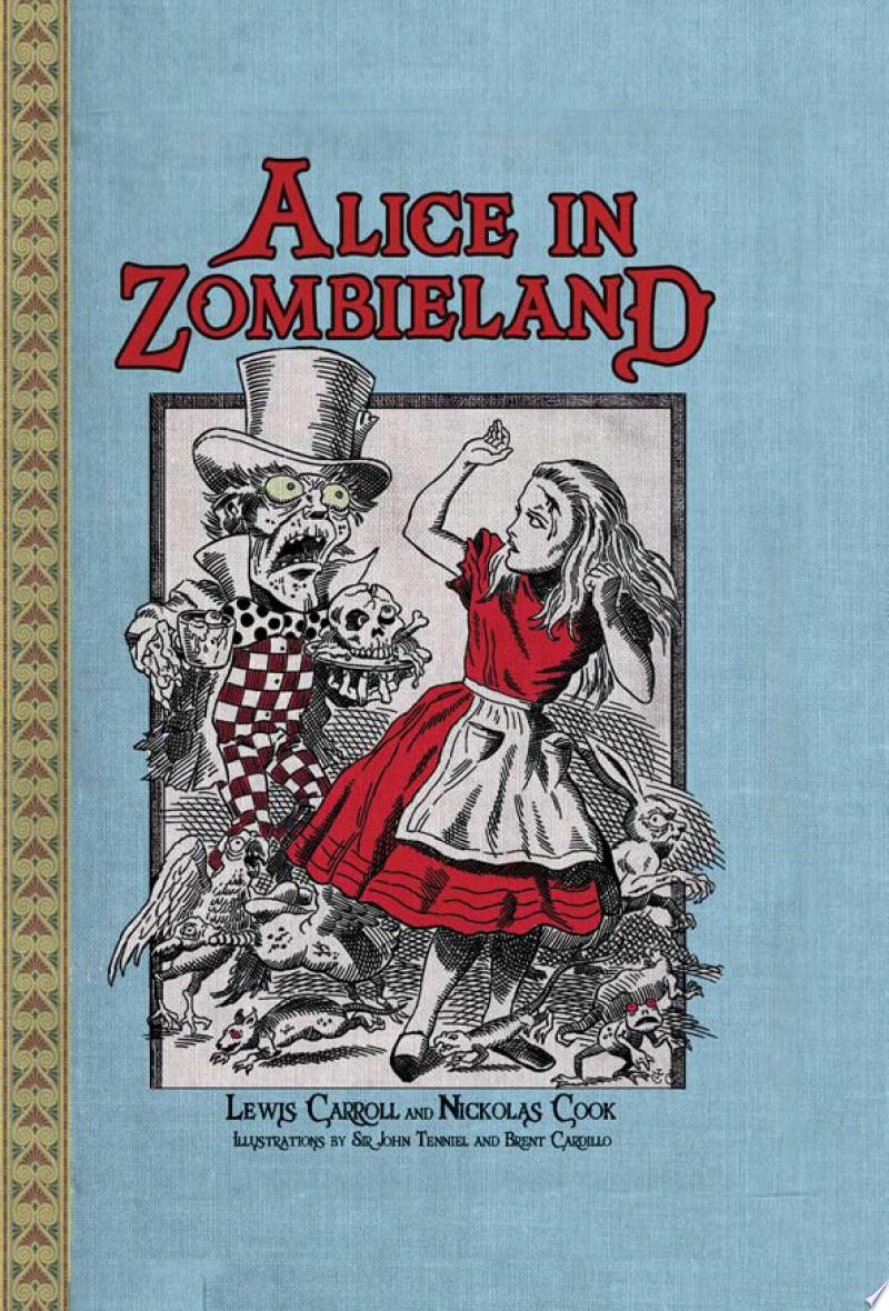 Alice in Zombieland banner backdrop