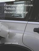 Environment Economic Methods Avoid Resource Shortage Book