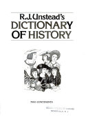 R  J  Unstead s Dictionary of History