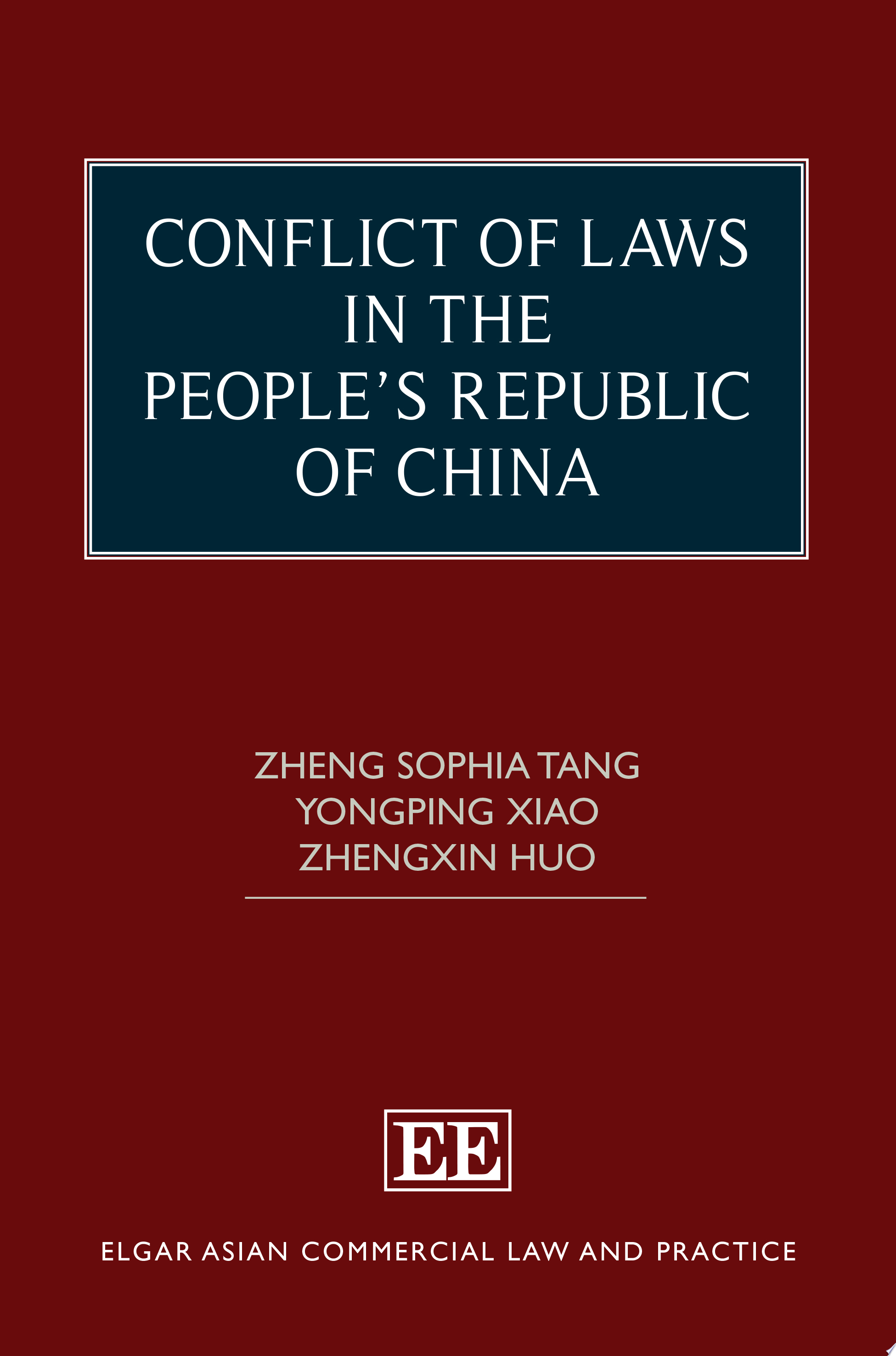 Conflict of Laws in the People   s Republic of China