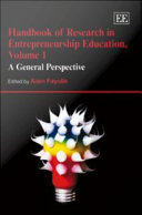 Handbook of Research in Entrepreneurship Education: A general perspective