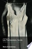 Law  Psychoanalysis  Society
