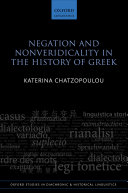 Negation and Nonveridicality in the History of Greek