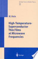 High Temperature Superconductor Thin Films at Microwave Frequencies