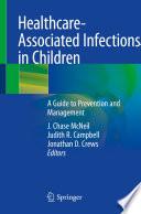 Healthcare Associated Infections in Children Book