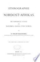 Ethnographie Nordost-Afrikas