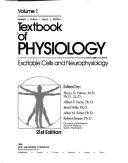 Textbook of Physiology  Excitable cells and neurophysiology