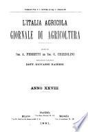 L'Italia agricola