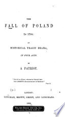 The Fall of Poland in 1794