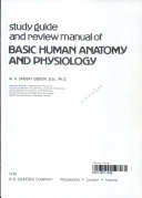 Study Guide and Review Manual of Basic Human Anatomy and Physiology Book