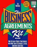 The Business Agreements Kit Book