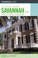 Insiders  Guide to Savannah and Hilton Head Book