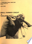 A I D Spring Review Of Small Farmer Credit