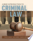 A Brief Introduction to Criminal Law Book