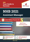 NHB Assistant Manager 2021   5 Mock Tests   15 Sectional Tests for Complete Preparation