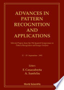 Advances In Pattern Recognition And Applications