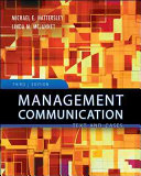 Cover of Management Communication: Principles and Practice