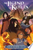 The Legend of Korra  Ruins of the Empire Part One Book