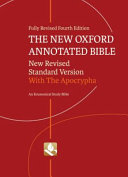 The New Oxford Annotated Bible With Apocrypha Book PDF