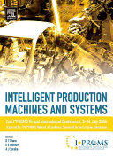 Intelligent Production Machines and Systems