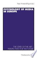 Psychology of Media in Europe