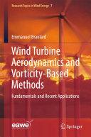 Pdf Wind Turbine Aerodynamics and Vorticity-Based Methods Telecharger