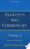 Ellicott S Bible Commentary