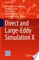 Direct and Large Eddy Simulation X