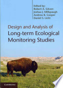 Design and Analysis of Long term Ecological Monitoring Studies