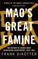 Mao's Great Famine Pdf/ePub eBook