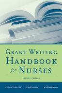 Grant Writing Handbook for Nurses