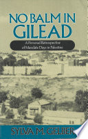 No Balm in Gilead Book
