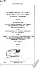 Hearings, reports and prints of the House Committee on Science and Astronautics