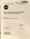 Failure Analysis of Woven and Braided Fabric Reinforced Composites