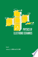 Physics of Electronic Ceramics   2 Part