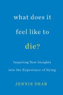 Pdf What Does It Feel Like to Die?