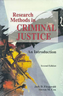 Research Methods in Criminal Justice
