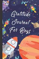 Gratitude Journal For The Boys  Rocket Ships Theme