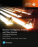 Cover of Business Intelligence, Analytics, and Data Science