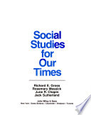 Social Studies for Our Times
