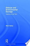 Deleuze And Environmental Damage