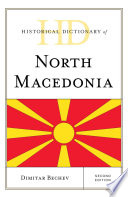 Historical Dictionary of North Macedonia