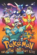Pok  mon Coloring Book for Kids Vol  9