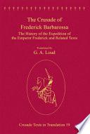 The Crusade of Frederick Barbarossa