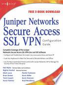 Juniper r  Networks Secure Access SSL VPN Configuration Guide Book